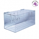 Acrylic quarantaine case 500x250x250mm single